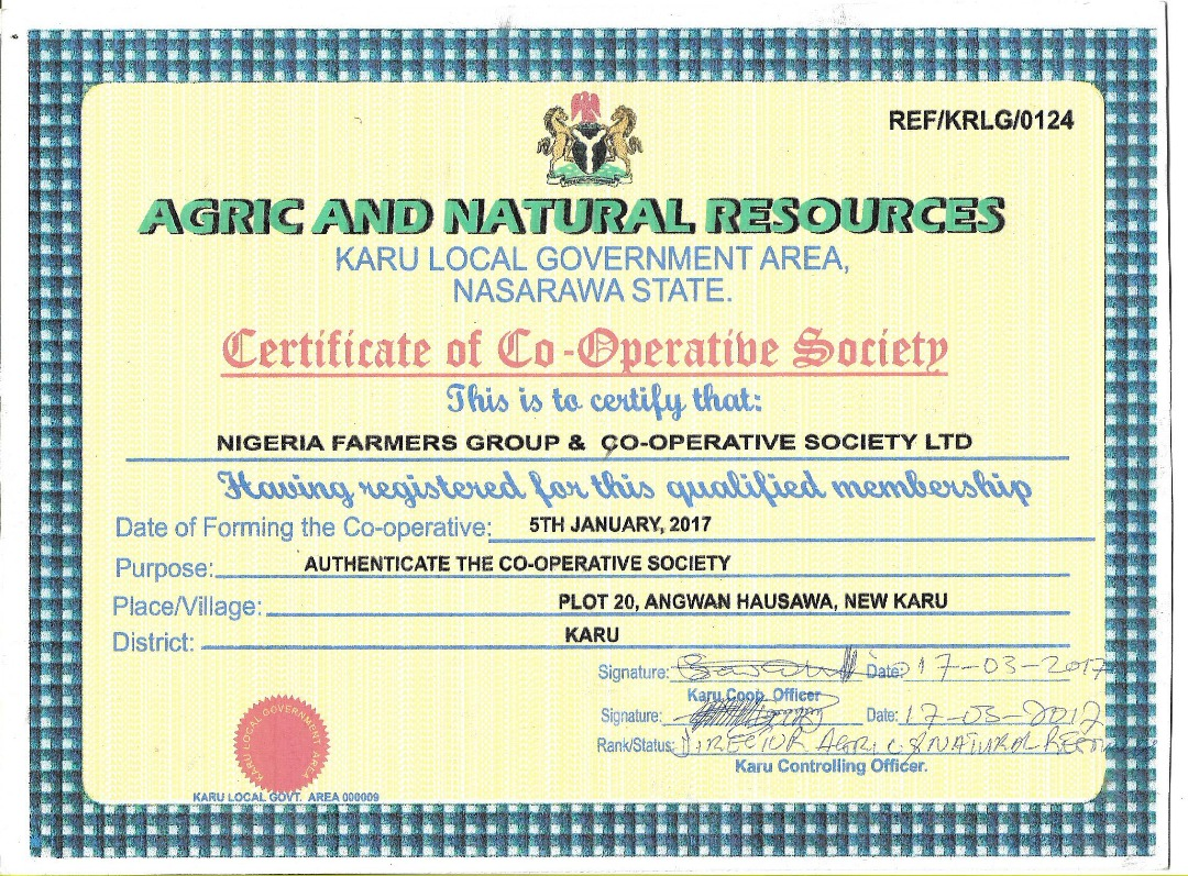 Agric and Natural Resources Certificate