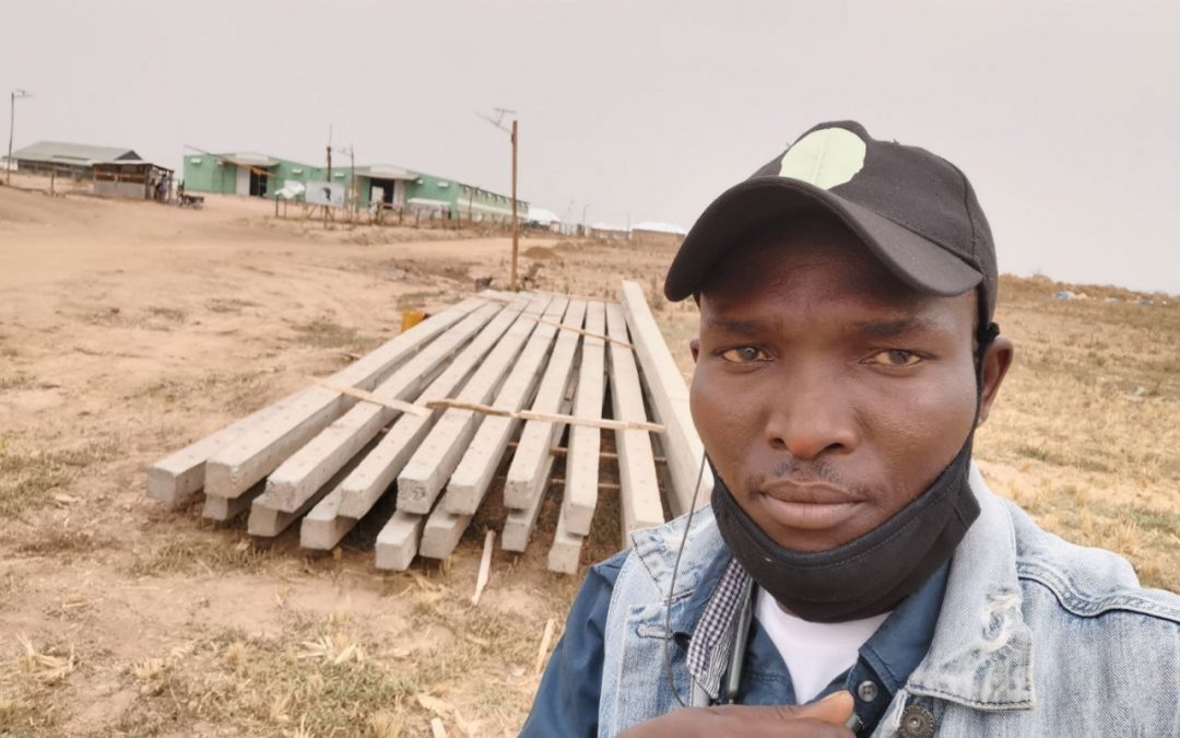 NFGCS Begins Installation of Electric Poles in Farm and Host Communities